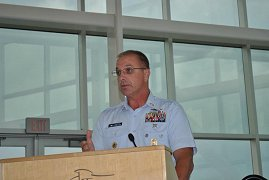 Madison Navy League - June 2012 - Coast Guard Change of Command Ceremonies of USCGC Scioto and USCGC Wyaconda & the celebration of 50 years of Service of USCGC Scioto